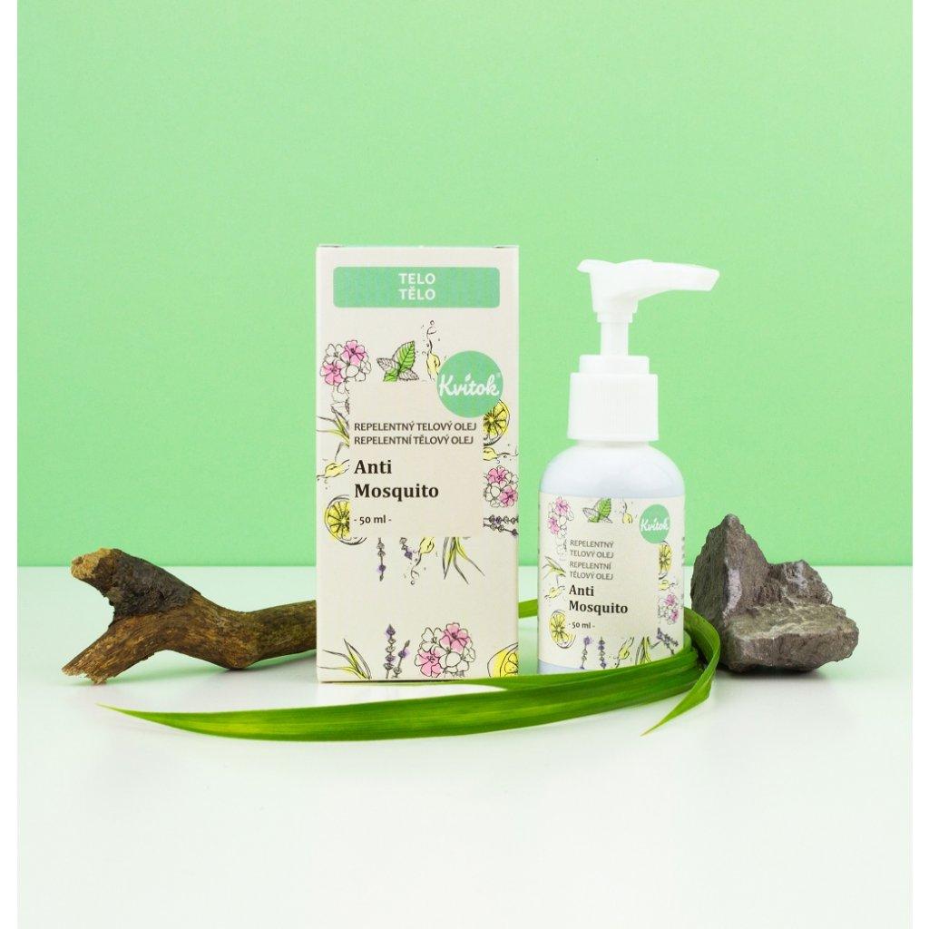 repelentný olej anti mosquito