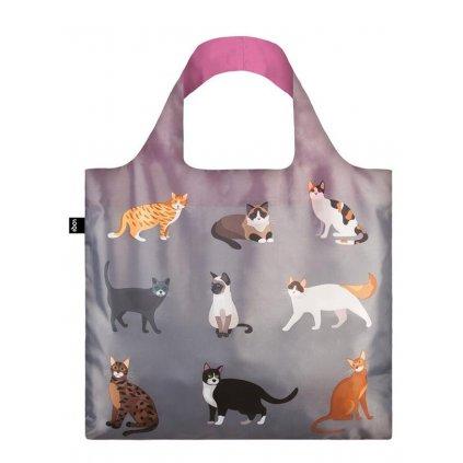 Loqi, Nákupná taška - Cats & Dogs - Meow