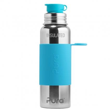 pura termo fľaša so športovým uzáverom 650 ml aqua