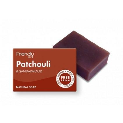 friendly soap prírodné mydlo pačuli a santalové drevo