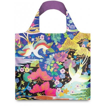 Loqi, Nákupná taška - Shinpei Naito Dancing Birds