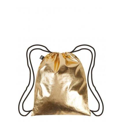 Loqi, Ruksak - Metallic Gold