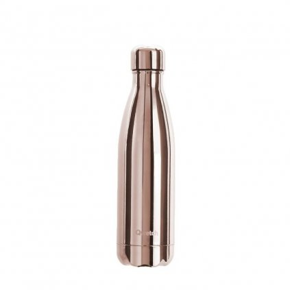 insulated stainless steel bottle rose gold 500ml