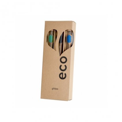 10627 ecoheart giftbox 3ks zelena cerna modra