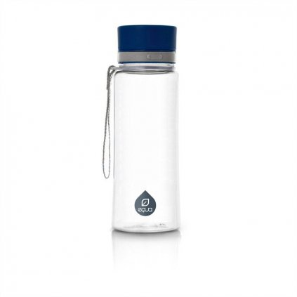 Fľaša Equa free BPA- Plain Blue 600ml