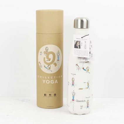 insulated stainless steel bottle yoga 500ml
