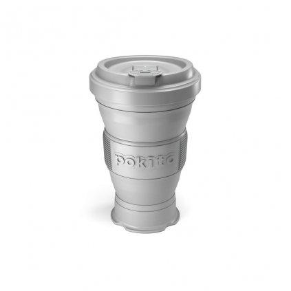 Pokito, Skladací pohár - Cool šedý