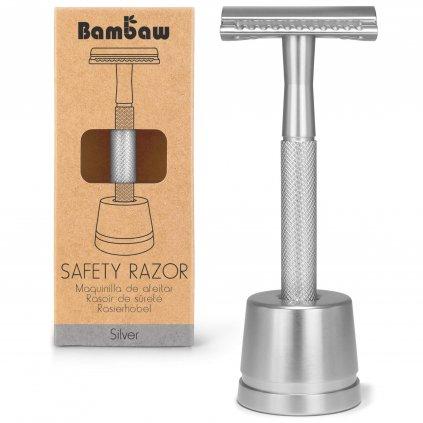 Bambaw Metal Razor 1 Packshot Silver