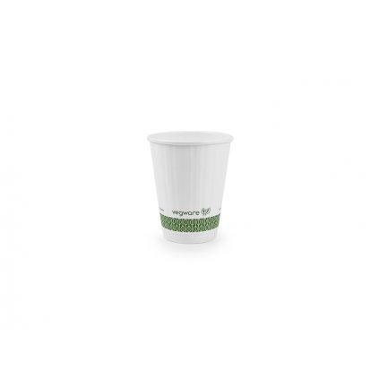 Vegware, Pohár na teplé nápoje 220 ml - biely