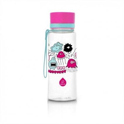 EQUA fľaša Pink Monster new