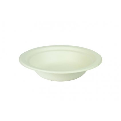 Kompostovateľný tanier hlboký 350 ml