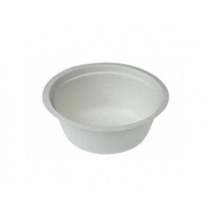 Vegware, Kompostovateľný tanier, hlboký, 450 ml