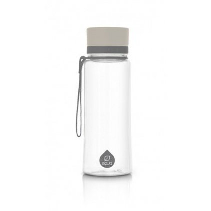 Fľaša EQUA free BPA- Plain Grey 600ml