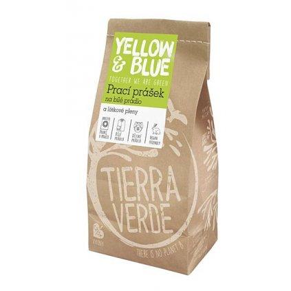 Tierra Verde, Prací prášok z mydlových orechov na biele prádlo a plienky s dezinfekčným účinkom, 5 kg