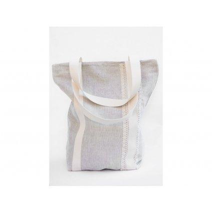 Nákupná taška s krajkou 35x45 cm EZ