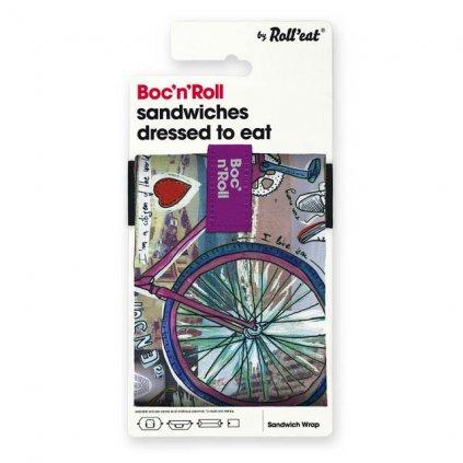 bocnroll teens bike pack A