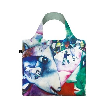 LOQI museum chagall i and the village bag