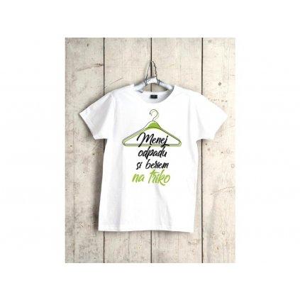 Tričko pánske - menejodpadushop na triko