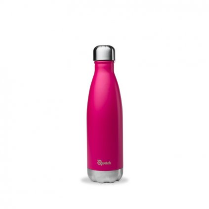 insulated stainless steel bottle magenta 500ml