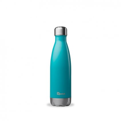 insulated stainless steel bottle turquoise 500ml