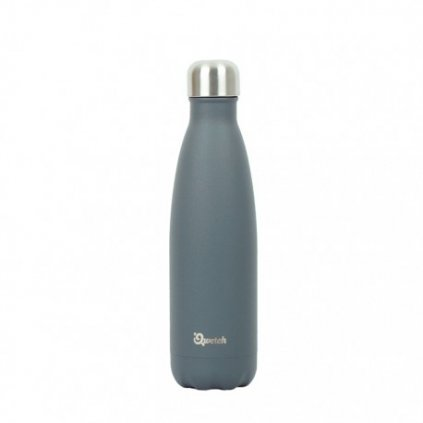 insulated stainless steel bottle granite grey 500ml