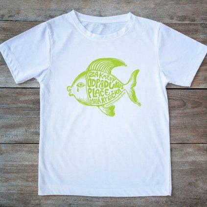 Tričko dámske- Rybička plače