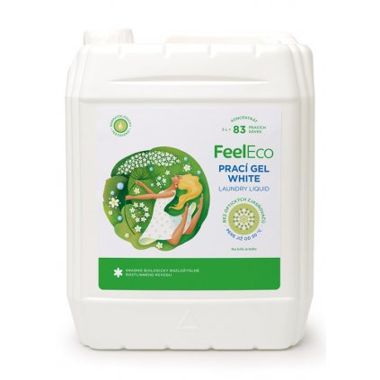 127 feel eco praci gel white 5l
