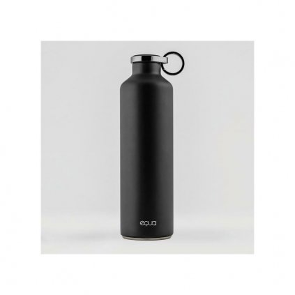 equa smartwaterbottle dark grey