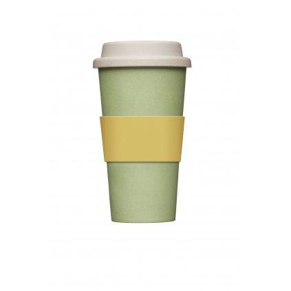 Bambusový pohár zelený