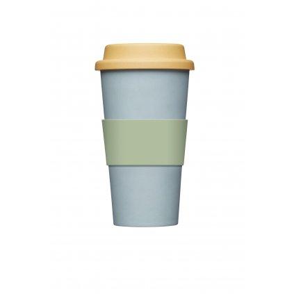 KitchenCraft, Bambusový pohár - modrý