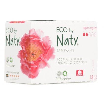 Naty, Dámské ECO tampóny (18 ks) - regular