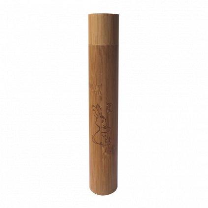 detsky bambusovy obal na zubnu kefku