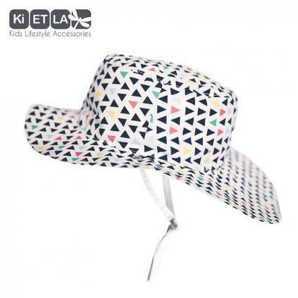 KiETLA, Obojstranný klobúčik s UV ochranou - 52 cm - Fun Fair
