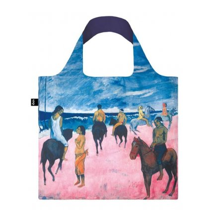 Loqi, Nákupná taška - Gauguin - Horseman on the Beach