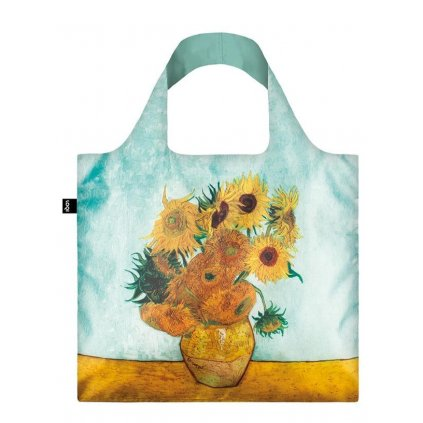 Loqi, Nákupná taška - Van Gogh - Vase with Sunflowers