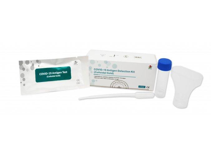 COVID 19 Antigen Detection Kit(Colloidal Gold) Saliva Test 3