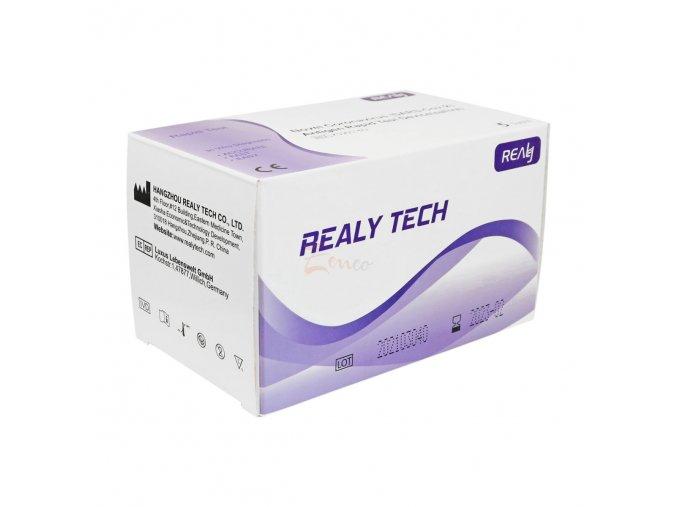 50 ks Antigenní test zo slín na COVID-19 REALY TECH