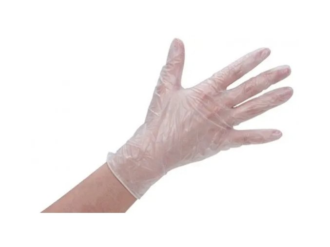 ZENCO Jednorazové vinylové rukavice 100 ks, veľ. M, L, XL