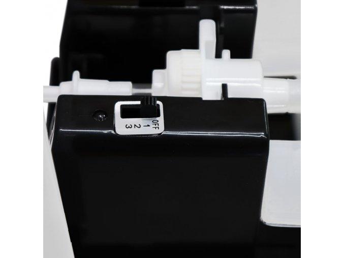 Bezdotykový dávkovač mydla a dezinfekcie 1000ml BIELO/SIVY DAV002