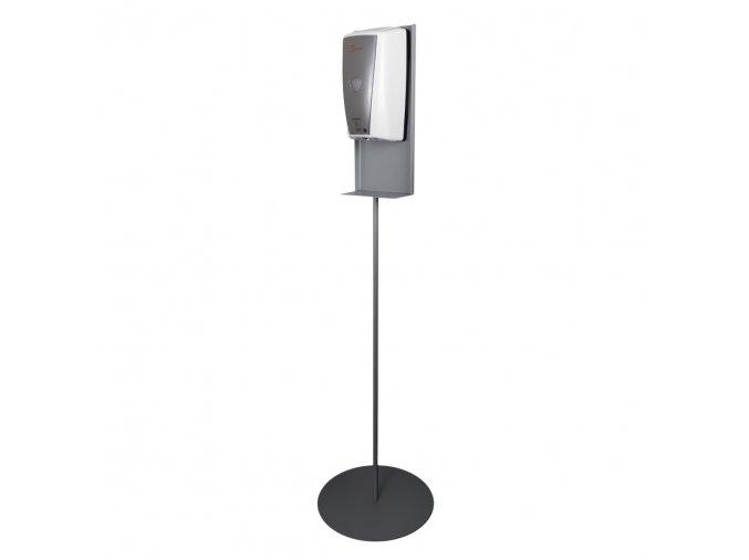 Dezinfekčný stojan s automatickým dávkovačom DAV002 BIELO/SIVY