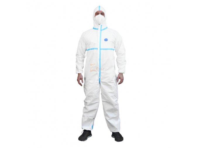 Ochranný oblek S KRYCÍM PÁSKOM TYP 3B, 4B, 5B, 6B