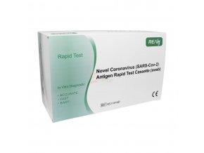 25 ks Antigénový test - výtěrový COVID-19 REALY TECH