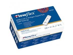 25 ks Antigénový výtěrový test COVID-19 Flowflex