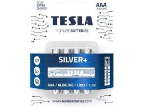 Batérie Tesla SILVER+ AAA 4 ks