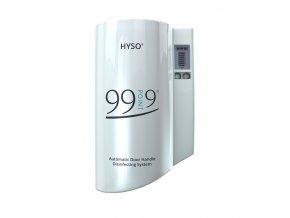 hyso 99point9 automaticky davkovac dezinfekce na dverni kliky