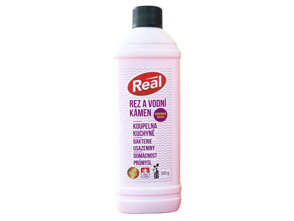 Real Rez a vodni kamen novy uzaver