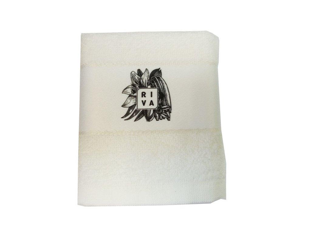 Riva ručník bílý 65 g