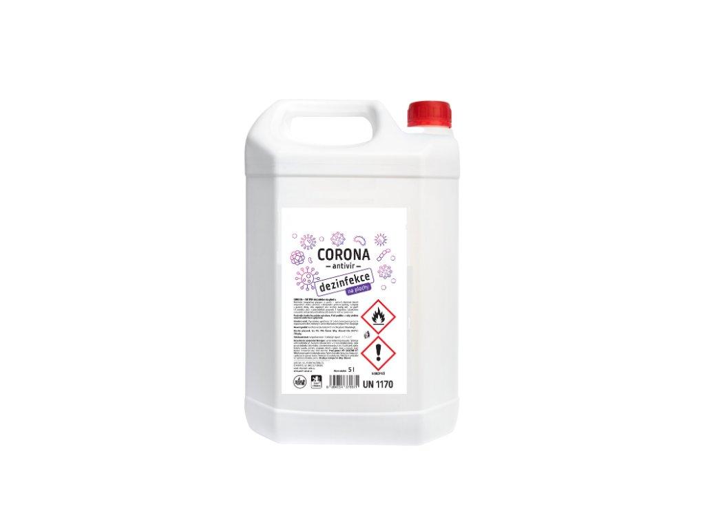 CORONA ANTIVIR dezinfekce na plochy 5l
