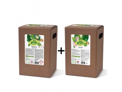 PVK Real green clelan prací gel a aviváž
