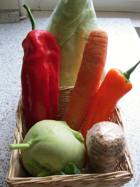 zelenina s vlákninou
